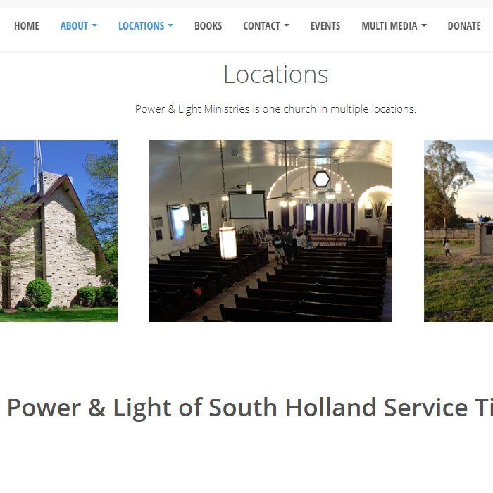 Power and Light Church
